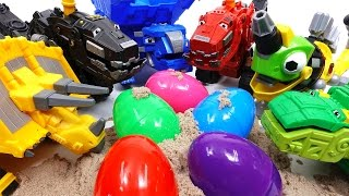 Trux It Up~! Let'S Open Surprise Eggs With Dinotrux