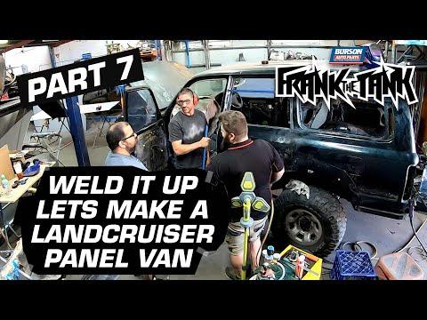 CUSTOMISING THE 80 - Toyota Landcruiser PANEL VAN Build