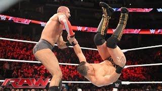 Cesaro vs. The Miz: Raw, November 2, 2015