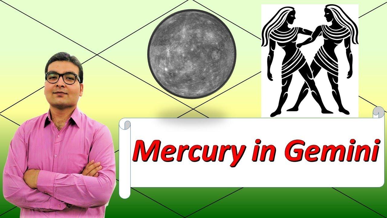 Mercury In Gemini (Traits and Characteristics) – Vedic Astrology