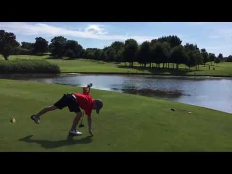 6 year old Jaxson Perry Shoots 90 - Part 2 (Holes 10-18) - Kendleshire GC 6118 yards / Par 70