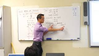 Intro to Straight Line Motion (3 of 3: Interpreting the equations)