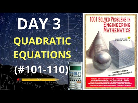 1001 Solved Problems in Engineering Mathematics| Day 3 (problems 101-110) thumbnail