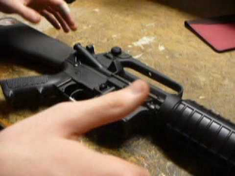 AR 15 Disassembly And Cleaning PART 1