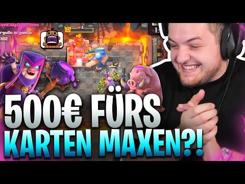😱😂ELEKTRO RIESE & HEXENMUTTER maxen?! | NACH 7 MONATEN wieder Clash Royale?! | Pay2Win mit  @BigSpin
