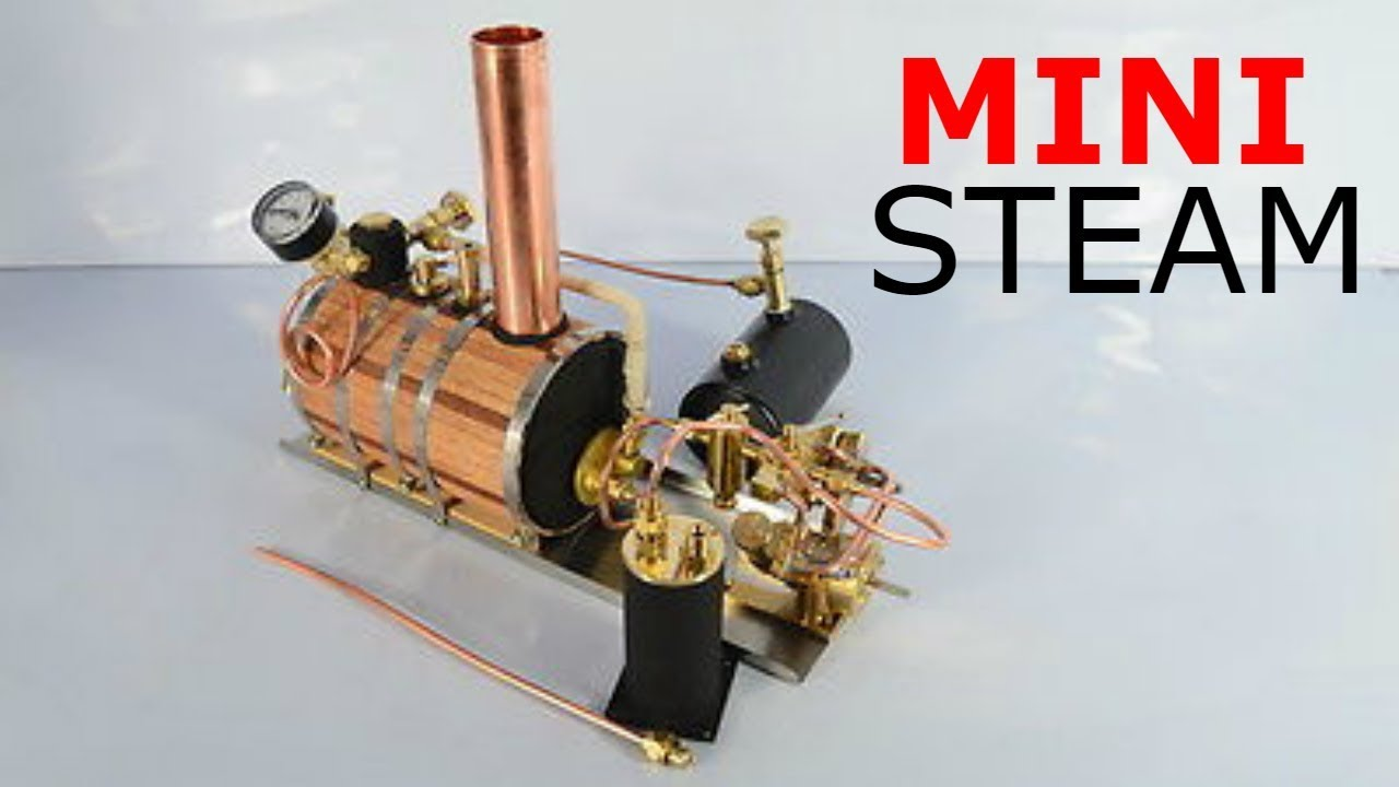 Mini V Double Cylinder Steam Engine Model Electrical Equipments & Supplies