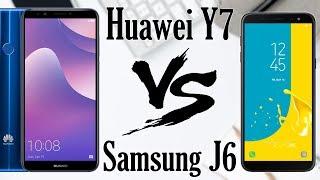 Huawei Y7 Prime 2018 VS Samsung J600f Galaxy J6 2018, что выбрать?