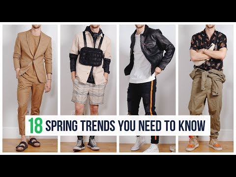 Men's Spring Fashion Trends For 2019 (In Stores RIGHT NOW!) | OneDapperStreet