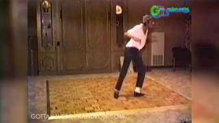 RARE Never Before Seen Footage Of Michael Jackson Practicing His Billie Jean Routine In 1984