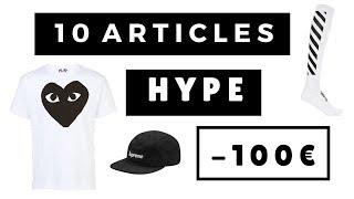 10 ARTICLES HYPE À MOINS DE 100€ | SOStyle