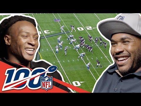 Steve Smith Sr. & DeAndre Hopkins Compare Smack Talk! | NFL 100 Generations