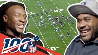 Steve Smith Sr. & DeAndre Hopkins Compare Smack Talk! | NFL 100 Generations