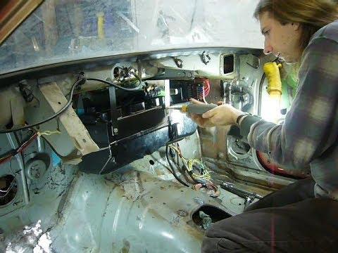 Part 29: Vintage Air Gen II Compac HVAC Install, Part 1 - My 76 Mazda RX-5 Cosmo Restoration