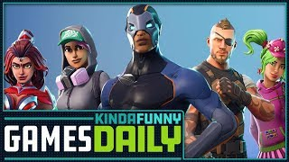 PlayStation Comments on Fortnite Drama - Kinda Funny Games Daily 06.27.18