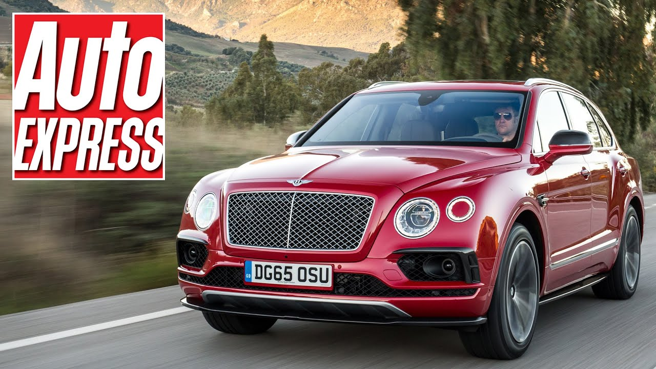 New Bentley Bentayga Suv Review Youtube