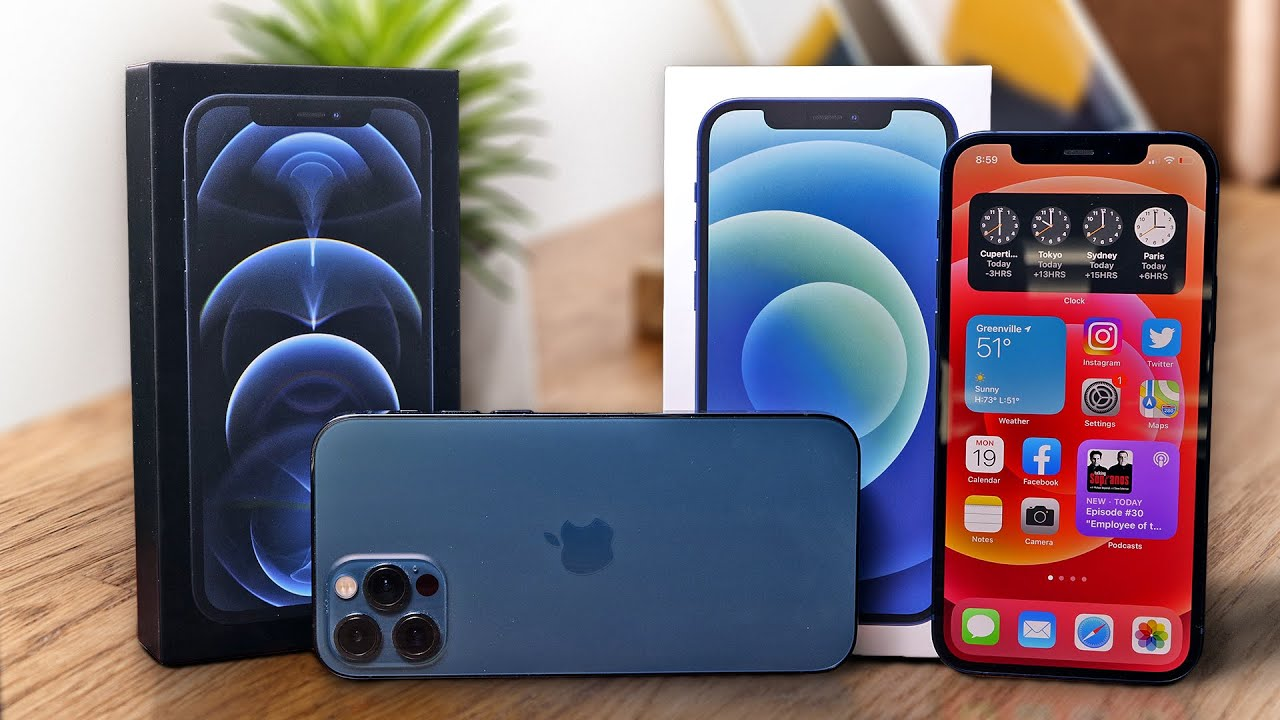 iPhone 12 and 12 Pro unboxing and setup (plus MagSafe accessories)