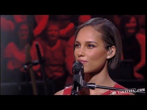 Alicia Keys Interview Part 1 (Live On Taratata Nov 2012)