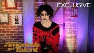 Goth Comedian Oliver Graves Anticipated Buzzers On AGT   America's Got Talent 2018