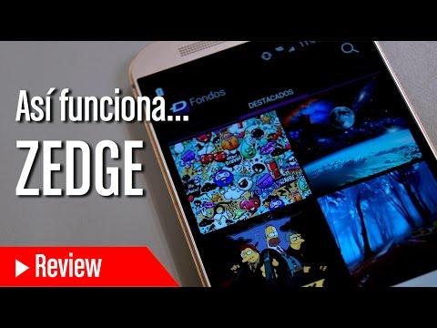 Análisis de  Zedge, la aplicación de wallpapers, tonos de llamada y juegos