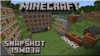 Minecraft 1.14 - Snapshot 19w03a : Composter & nouveaux sons !