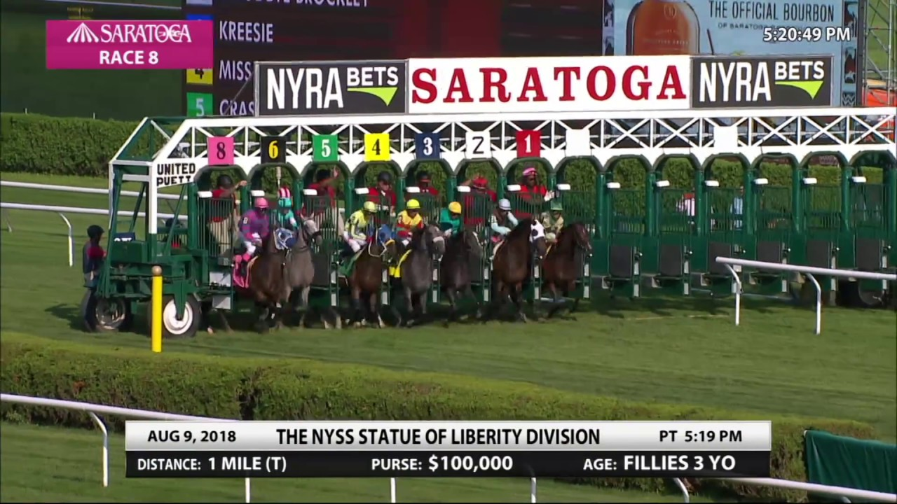 Goodbye Brockley - 2018 - The NYSS Statue of Liberty Division Stakes