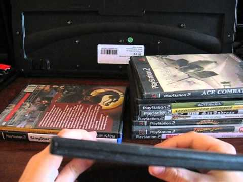 Обзор моей коллекции игр для PS2