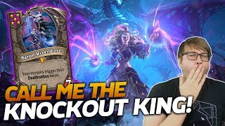 45 DMG HIT! Call me the KNOCKOUT KING! | Hearthstone Battlegrounds | Savjz