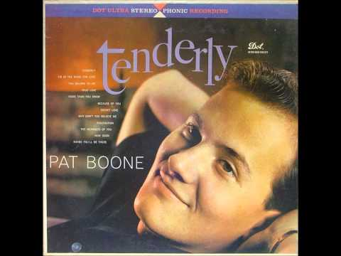 Pat Boone - Cheery pink and apple blossom white - 1961