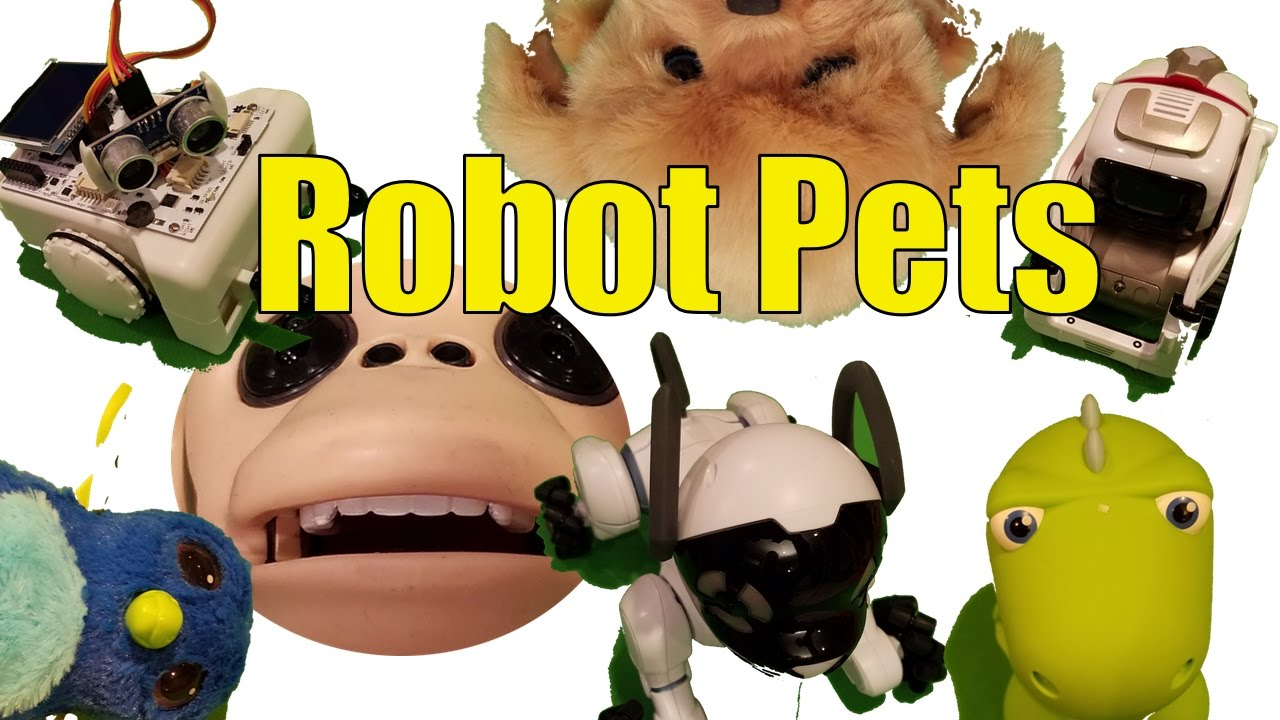 The 7 Best Robot Pets of 2016, Robotic Pets For Everyone!