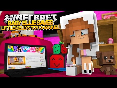 BABY ELLIE SAVES LITTLE KELLYS TOY CHANNEL FROM RAMONA! Minecraft Roleplay