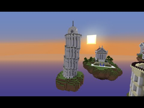 Minecraft Leaning Tower of Piza: Building with Optical Creeper Episode 6