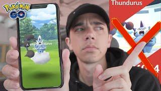 How to Catch THUNDURUS *WITHOUT RAIDING* in Pokémon GO!