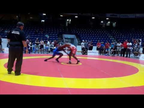 2016 Canada Cup: 97 kg Reineris Salas Perez (CUB) vs. Ignatius Pitt (CAN)