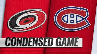 12/13/18 Condensed Game: Hurricanes @ Canadiens