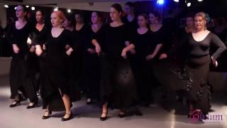 Открытый урок фламенко, педагог Екатерина Медведва