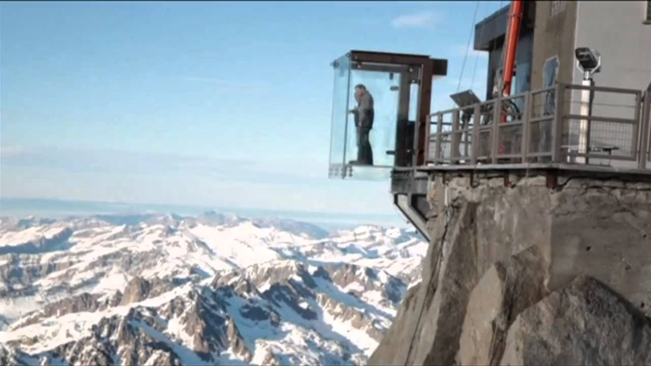 Image result for glass box in mountain