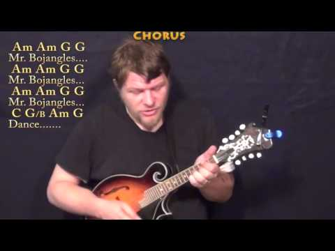 Mr Bojangles (Jerry Jeff Walker) Mandolin Cover Lesson in C with Chord/Lyrics