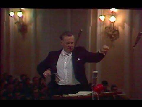 Evgeny Svetlanov conducts Sibelius Symphony no. 1 - video 1984