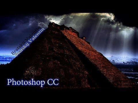 Photoshop CC Как удалить надпись или объект с фотографии