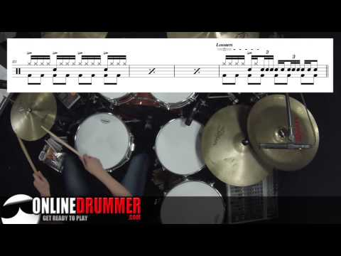 Drum Lesson - Learn A Fill From Smoke On The Water