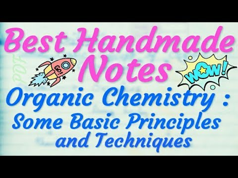 Chemistry Class 11 Unit 12 | Organic Chemistry Handmade Notes...