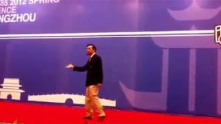 'Yes or No', Frank Gong, Toastmasters Conference Humorous Speech Winner, Hangzhou 2012
