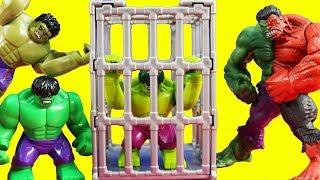 Hulk Family Reunion With Compound Hulk And The Ultimate Hulk Smash
