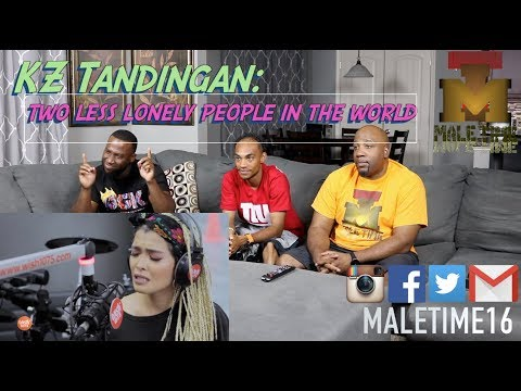 KZ Tandingan covers 'Two Less Lonely People In The World' (Kita Kita OST) LIVE on 107.5 (Reaction)