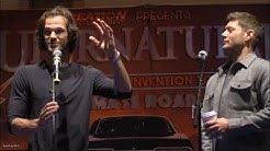 2020 VegasCon Jared Padalecki and Jensen Ackles GOLD FULL Panel Supernatural