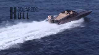HULLSQUARED catamaran power boat - καταμαραν