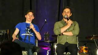jared gilmore and andrew j west ouat orlando 2018 partial panel