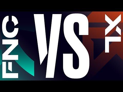 FNC vs. XL - Week 3 Day 1 | LEC Spring Split | Fnatic vs. Excel Esports (2020)