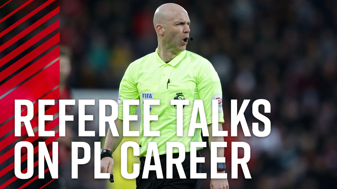 Premier League referee Anthony Taylor talks about his career ✋