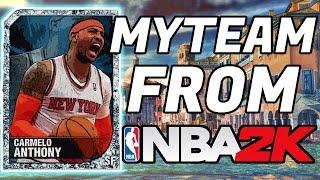 NBA 2K`s | MYTEAM MODE FROM 2K13 - 2K18